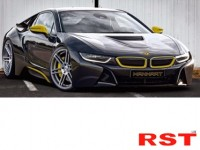 bmw i8 от manhart racing