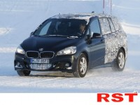 Компания bmw тестирует 2-series active tourer